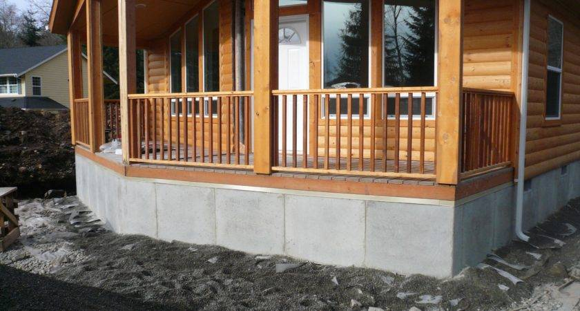 Manufactured Home Skirting Using Duraskirt Technology