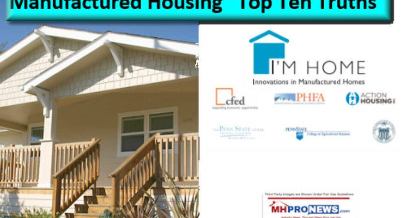 Manufactured Housing Top Ten Truths Daily Business News