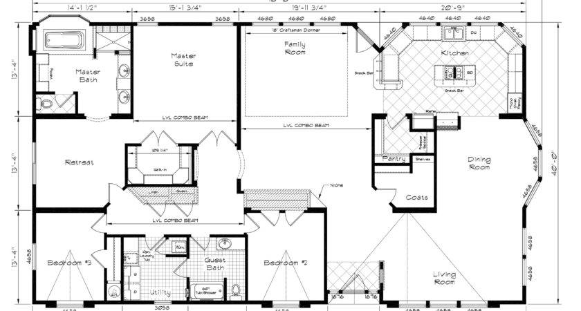 Marlette Single Wide Floor Plans Thefloors