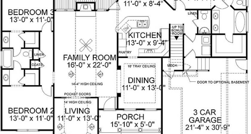 Marvelous Best House Plans Ranch Floor