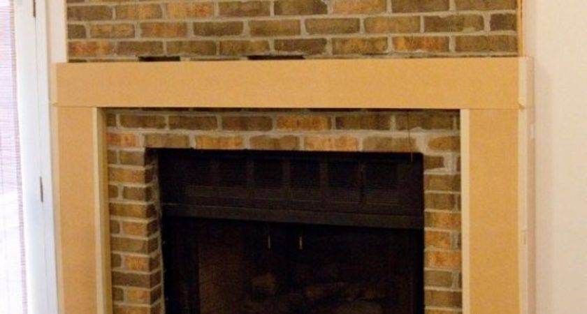 Marvelous Brick Fireplace Makeover