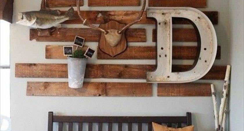 Marvelous Incredible Rustic Pallet Wood Home Decor