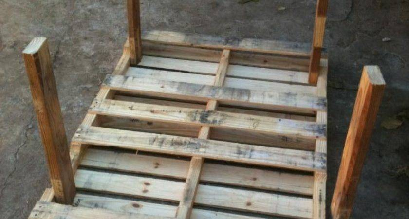 Marvelous Pallet Patio Table Your Interior Home
