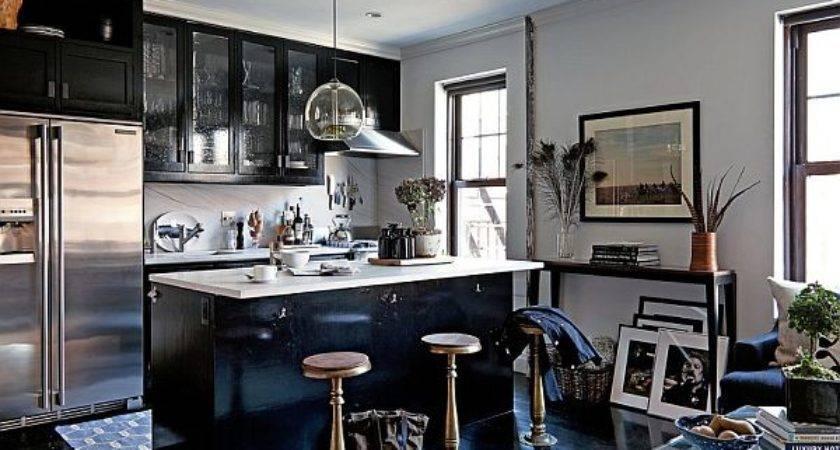 Masculine Interior Design Apartment Greenwich Village