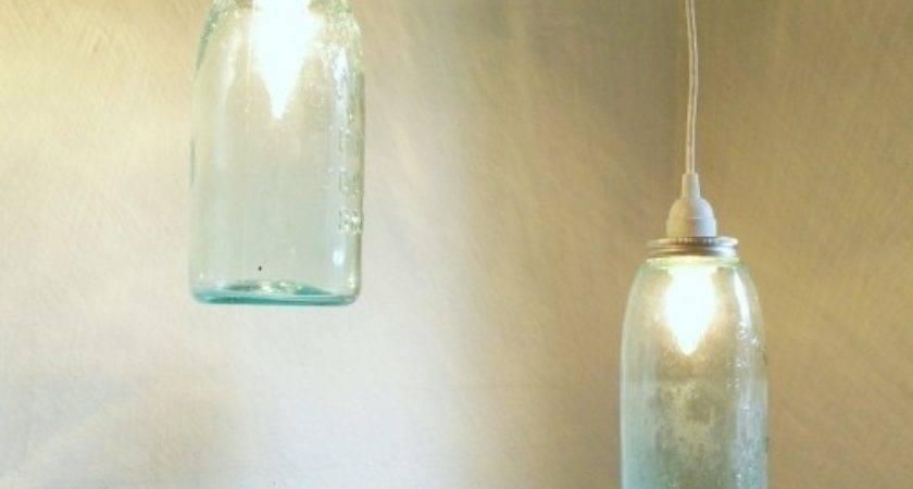Mason Jar Pendant Light Pottery Barn Lighting Ideas