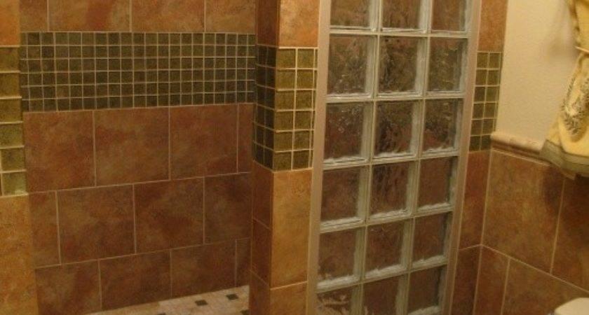 Master Bath Remodel Open Walk Shower Empty
