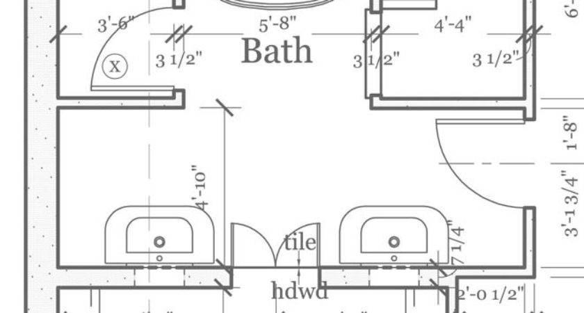 Master Bathroom Floorplans Find House Plans