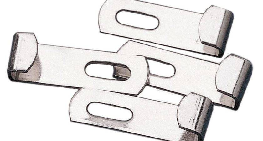 Masterpiece Decor Spring Loaded Mirror Mounting Clips