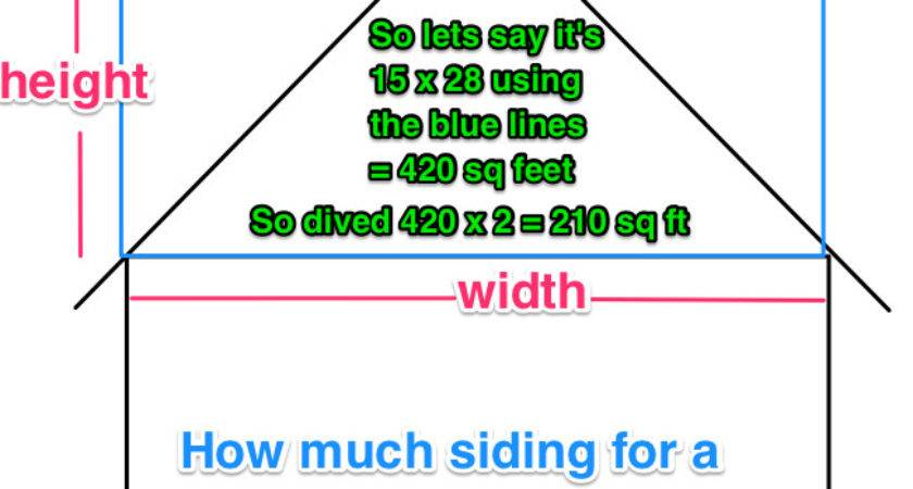 Measure House Siding