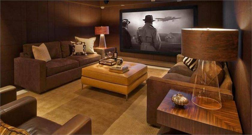 Media Room Design Ideas Beautiful Try Unexpected