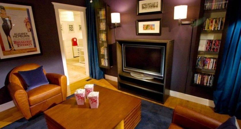 Media Room Furniture Ideas Small