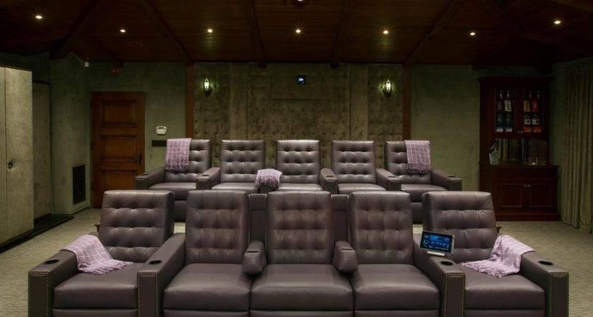 Media Room Furniture Walpaper