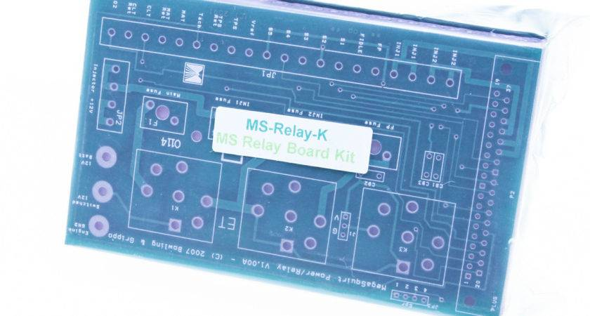 Megasquirt Relay Board Unassembled Kit