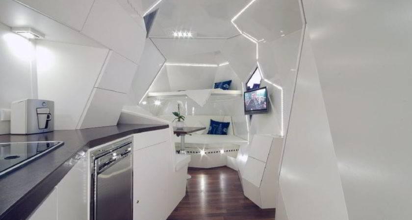 Mehrzeller Concept Turns Travel Trailer Into Gemstone
