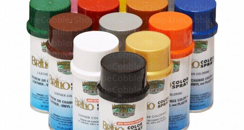 Meltonian Life Brillo Color Spray Leather Vinyl Paint