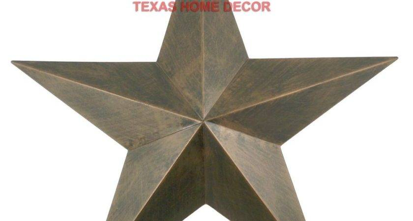Metal Barn Star Rustic Copper Texas Tin Primitive