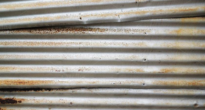 Metal Corrugated Sheet Rustic Decay Abstract Photos