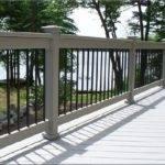 Metal Deck Railing Ideas Cheap Stairs