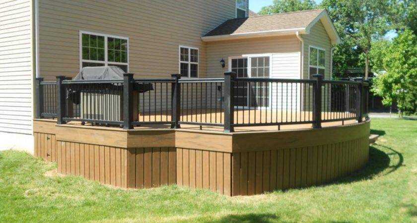 Metal Deck Skirting Ideas Jbeedesigns Outdoor
