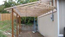 Metal Lean Carport Macho Zst