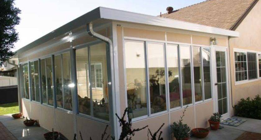 Metal Patio Roof Kits Rooms Enclosures Aluminum