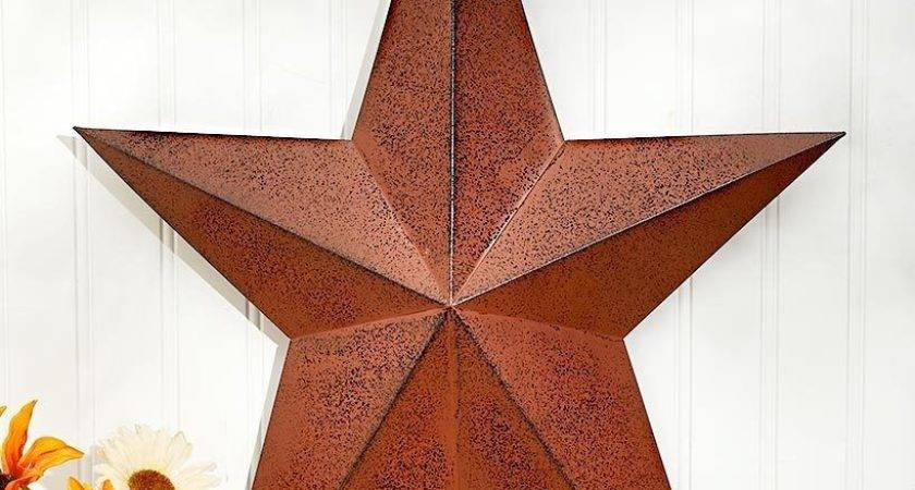 Metal Primitive Star Rustic Country Americana Home Wall