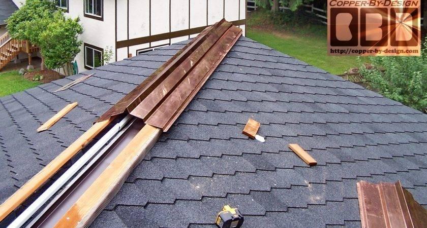 Metal Ridge Vent Shingle Roof