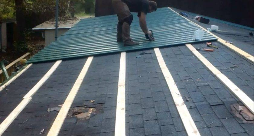 Metal Roof Cheap Youtube