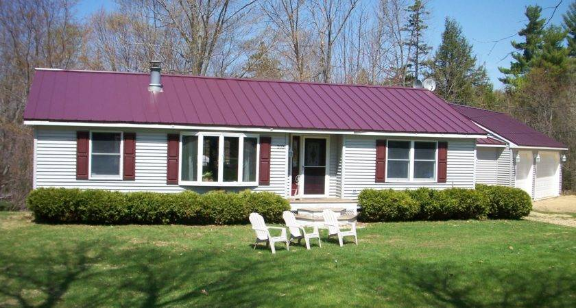 Metal Roof Country House Plans