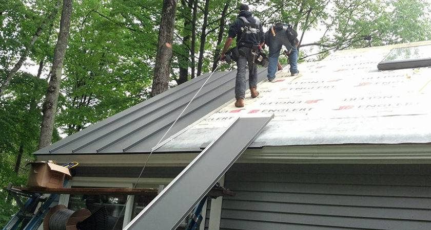 Metal Roof Good Option Houses Michigan