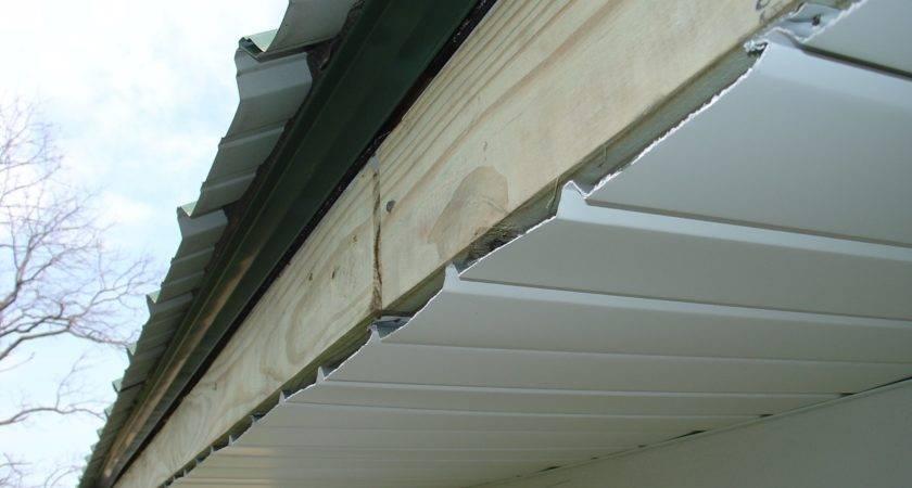 Metal Roof Soffit Fascia