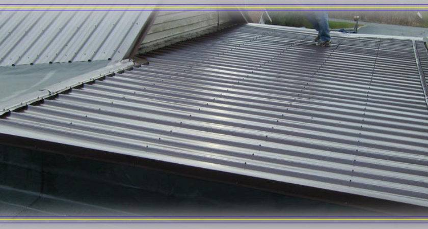 Metal Roofil Roofing Flat Roof