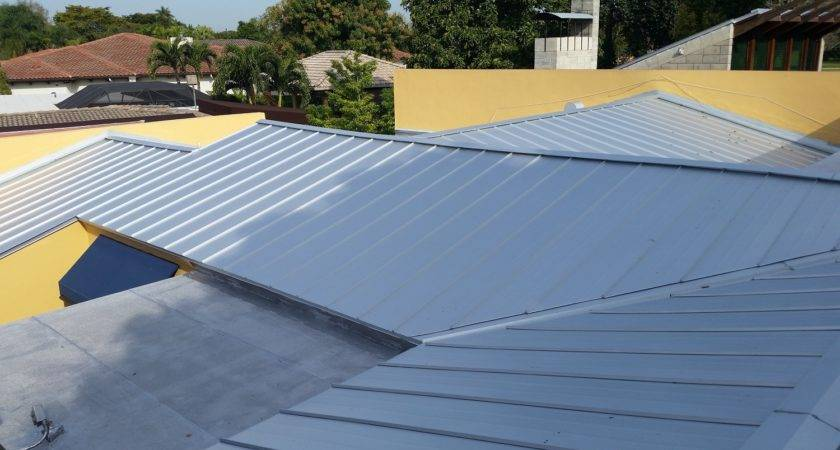 Metal Roofs Four Flat Miami Springs Roofer