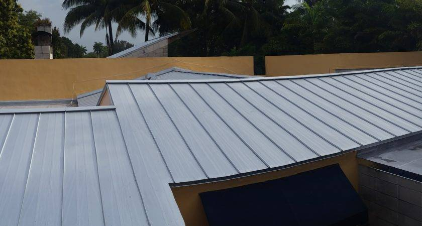 Metal Roofs Four Flat Miami Springs