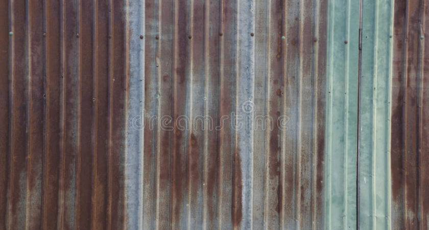 Metal Sheet Rust Wall Home House Rustic Concept