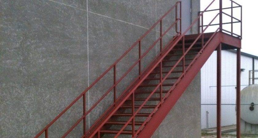 Metal Stair Precast Concrete Steps