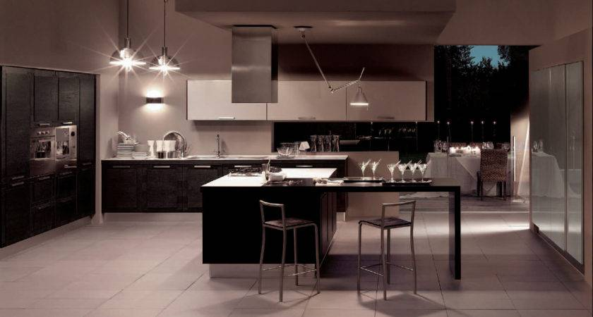 Metropolis Modern Kitchen Interior Decor Stylehomes