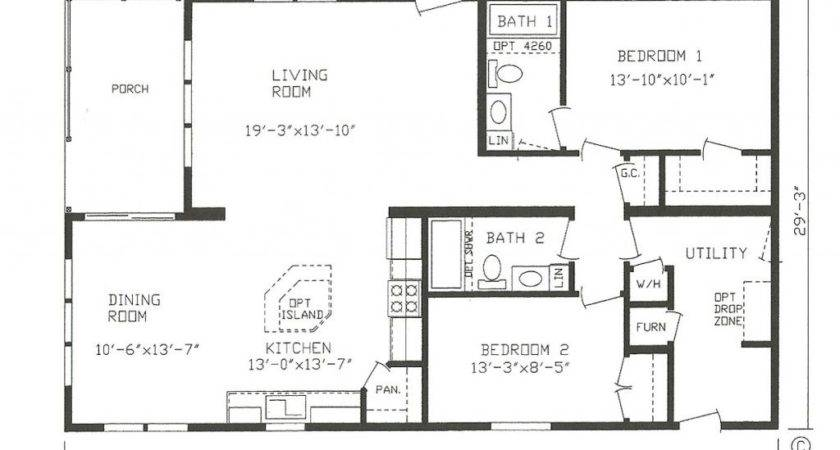 Mfg Homes Floor Plans New Manufactured
