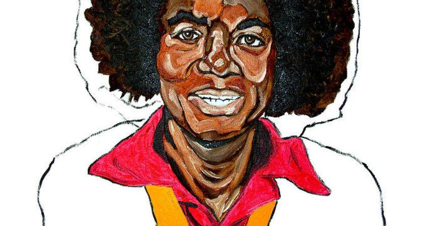 Michael Jackson Off Wall Painting Fields