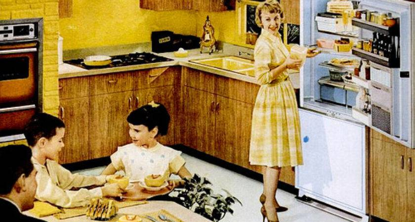 Mid Century Living Kitchens