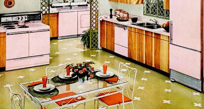 Mid Century Living Kitchens