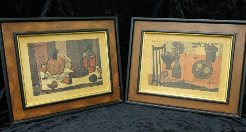 Mid Century Mel Fowler Prints Cubist Inspired Lot
