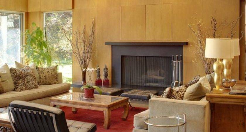Mid Century Modern Home Interior Design House Plans