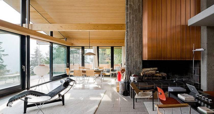 Mid Century Modern Interior Seams Atlanta