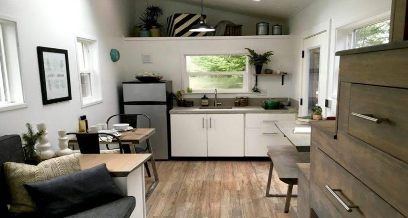 Mid Century Modern Tiny Home Small House Interior Design