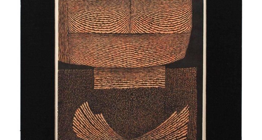 Mid Century Woodblock Print Tomio Kinoshita Japan