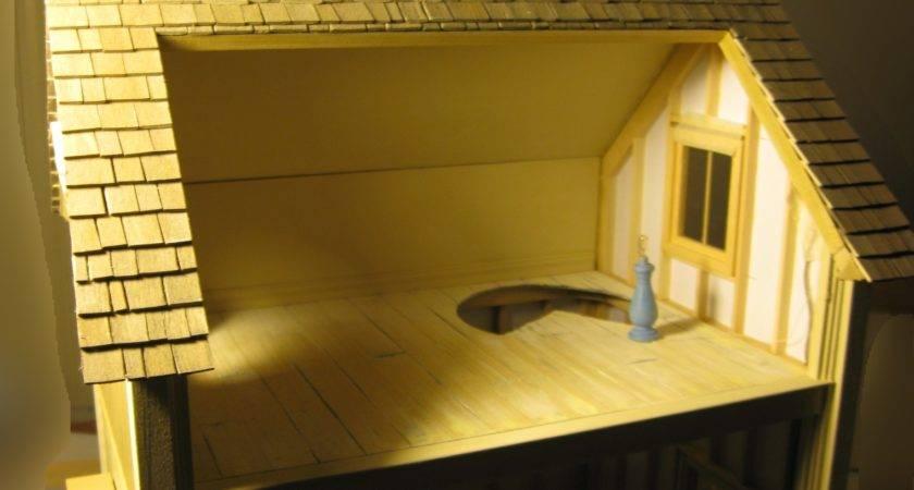 Mike Miniatures Modular Stick Built Pack Away Dollhouse