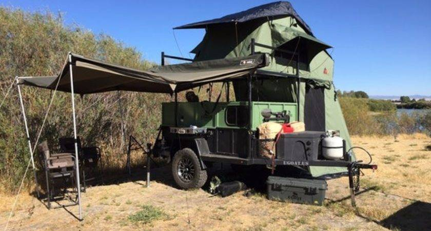 Military Inspired Off Road Multi Trailers Explore
