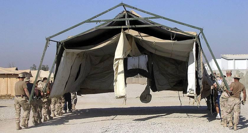 Military Photos Tent Move