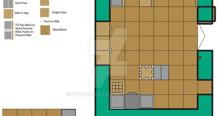 Minecraft House Floor Plan Whitekidz Deviantart